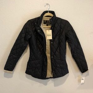 Fitted Barbour Flyweight Cavalry Quilted Jacket